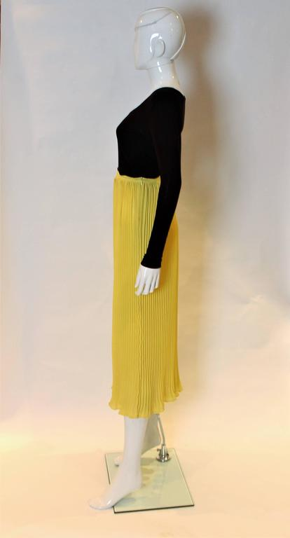 7b616438e1 Lolita Lempika Yellow Pleated Skirt In Excellent Condition For Sale In  London, GB