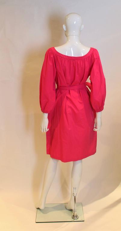 Yves Saint Laurent Rive Gauche Pink Dress 2