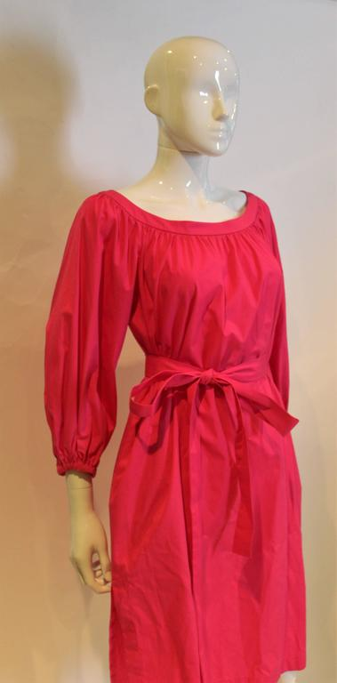 Yves Saint Laurent Rive Gauche Pink Dress 6