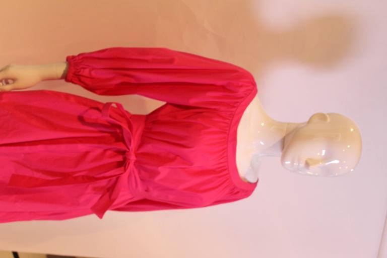 Yves Saint Laurent Rive Gauche Pink Dress 7