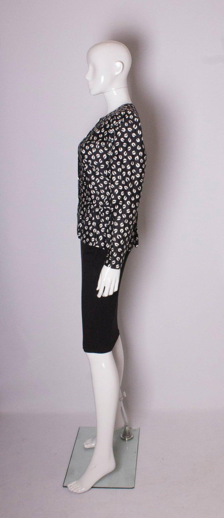 Vintage Yves Saint Laurent Top For Sale 1