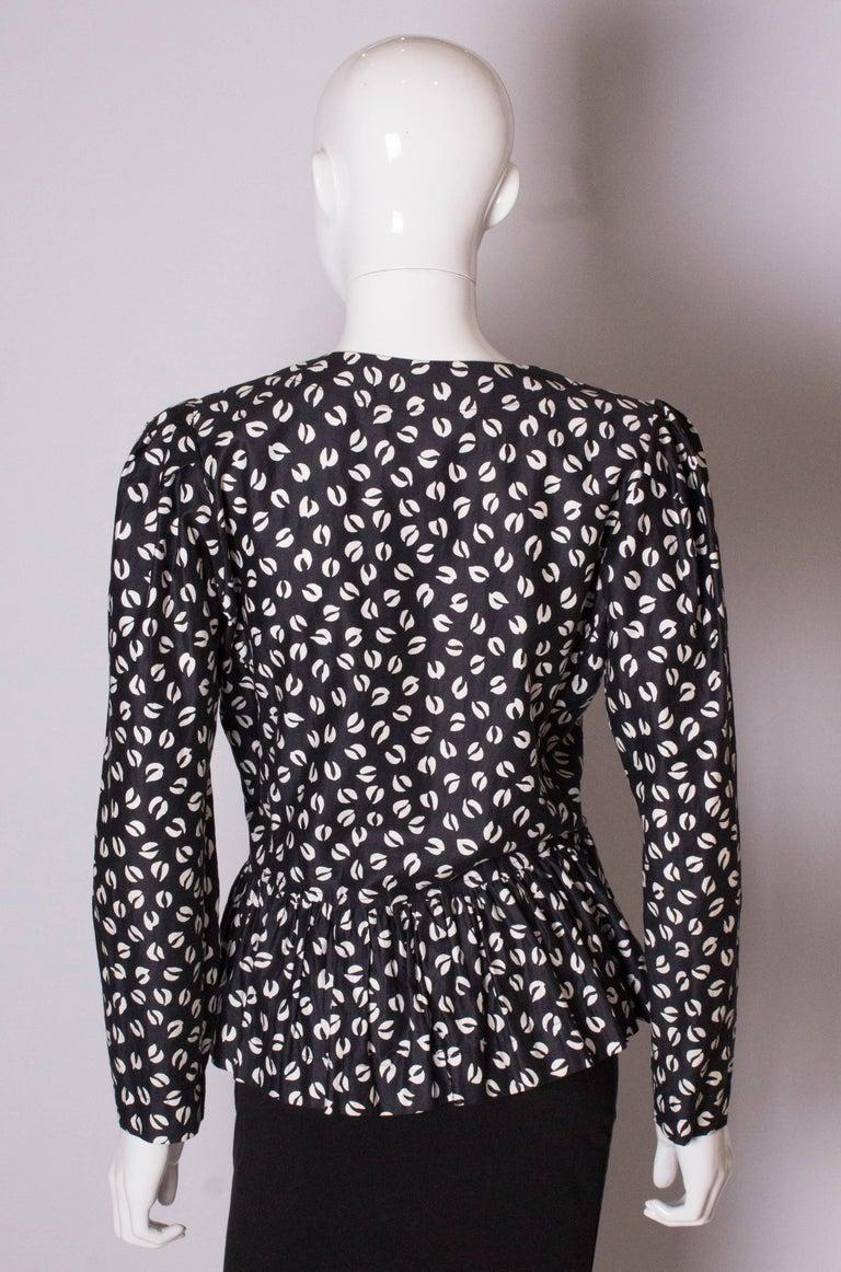 Vintage Yves Saint Laurent Top For Sale 3