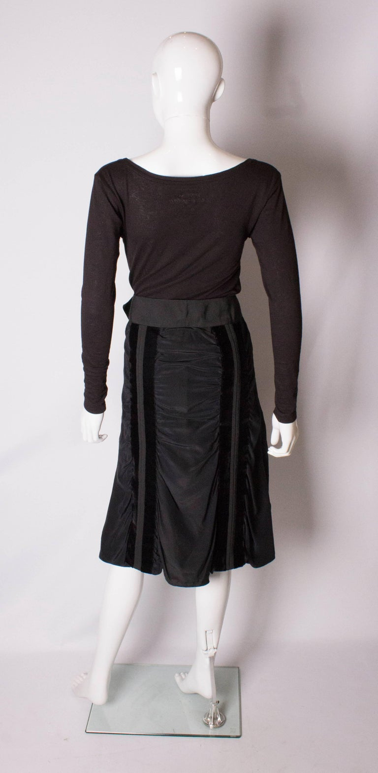 Yves Saint Laurent Rive Gauche Vintage Skirt For Sale 2