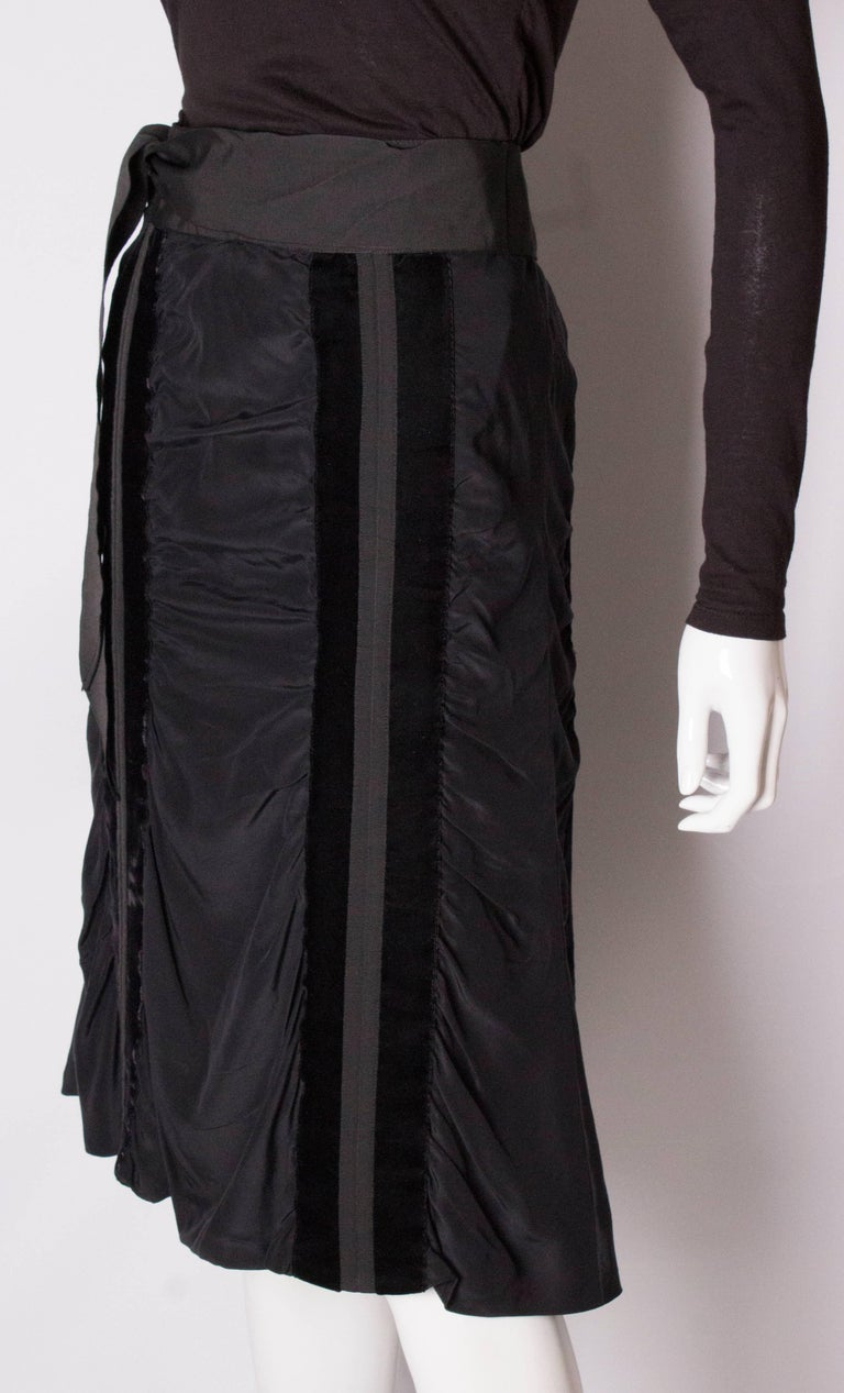 Yves Saint Laurent Rive Gauche Vintage Skirt In New Condition For Sale In London, GB