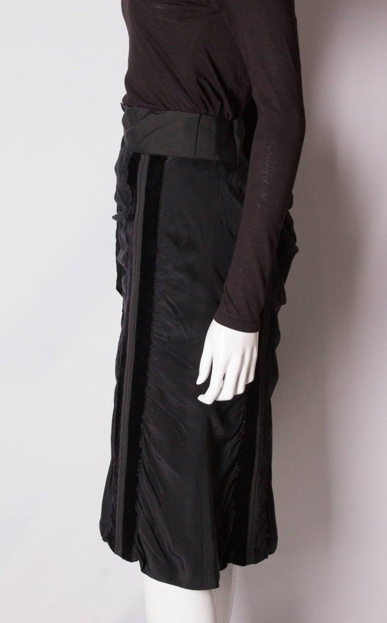 Yves Saint Laurent Rive Gauche Vintage Skirt For Sale 1