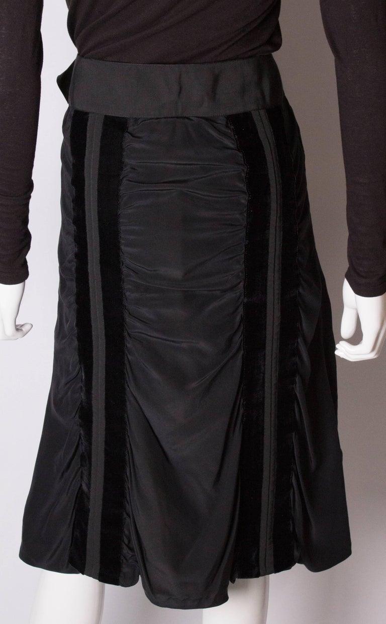 Yves Saint Laurent Rive Gauche Vintage Skirt For Sale 3