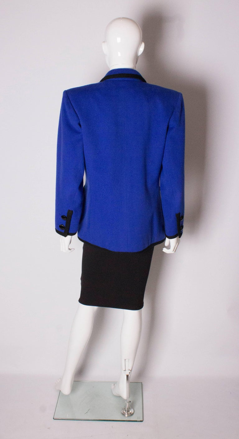 Vintage Yves Saint  Laurent Wool Jacket For Sale 2