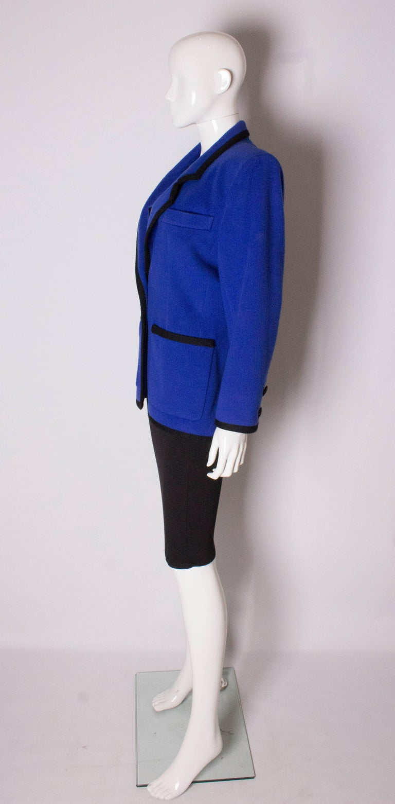 Women's Vintage Yves Saint  Laurent Wool Jacket For Sale