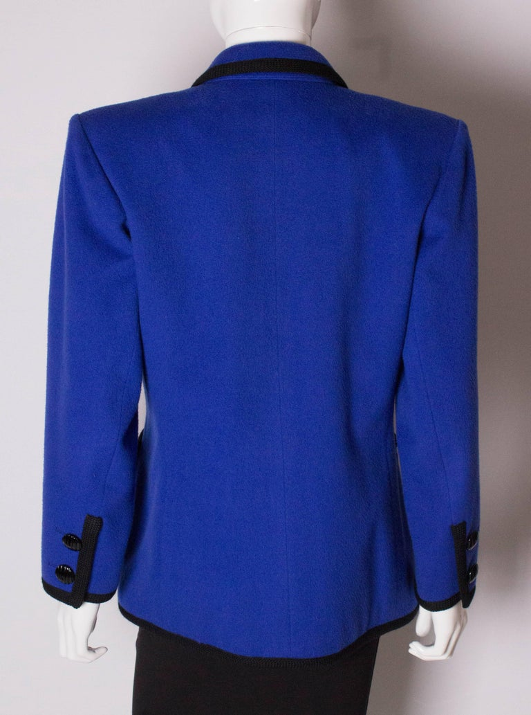 Vintage Yves Saint  Laurent Wool Jacket For Sale 3
