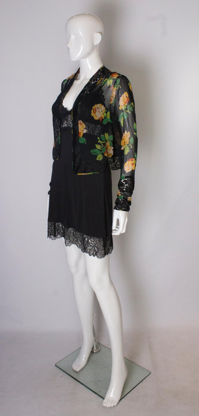 Bolero Vintage with Lace Detail, 1920s  In Good Condition For Sale In London, GB