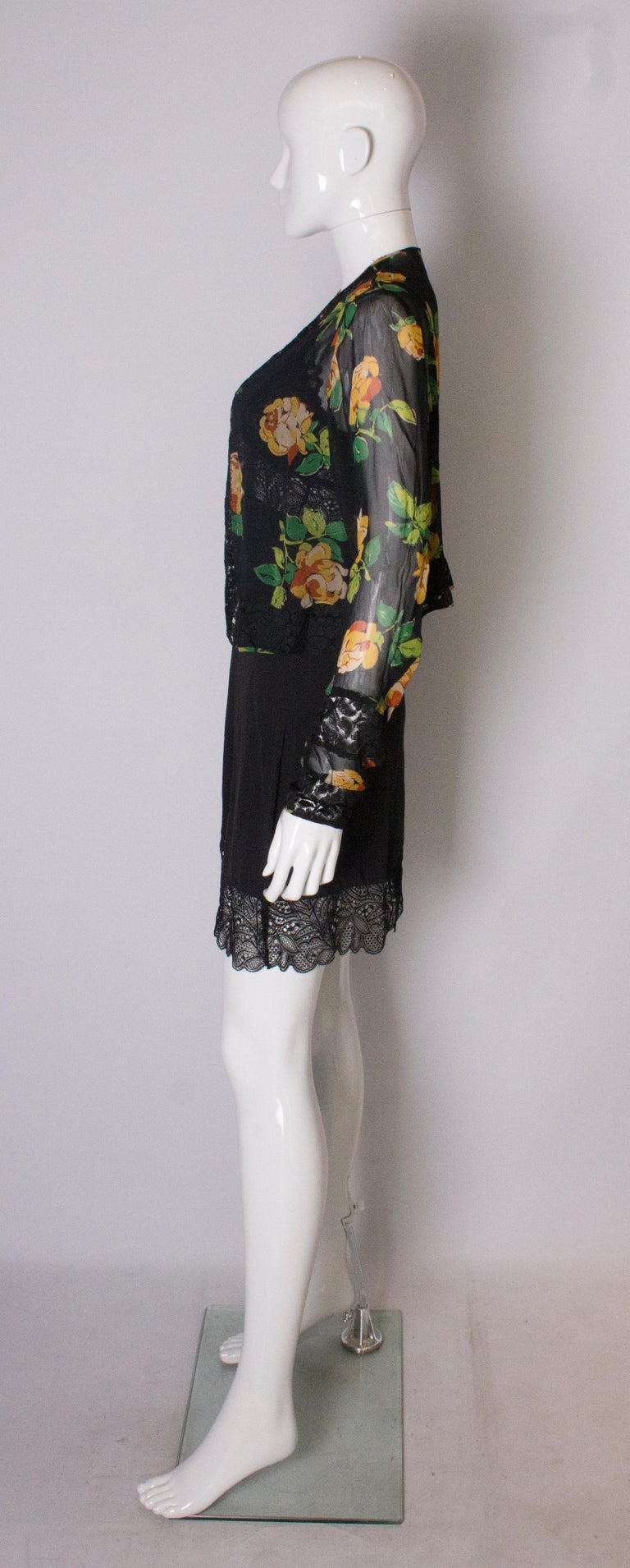 Bolero Vintage with Lace Detail, 1920s  For Sale 1