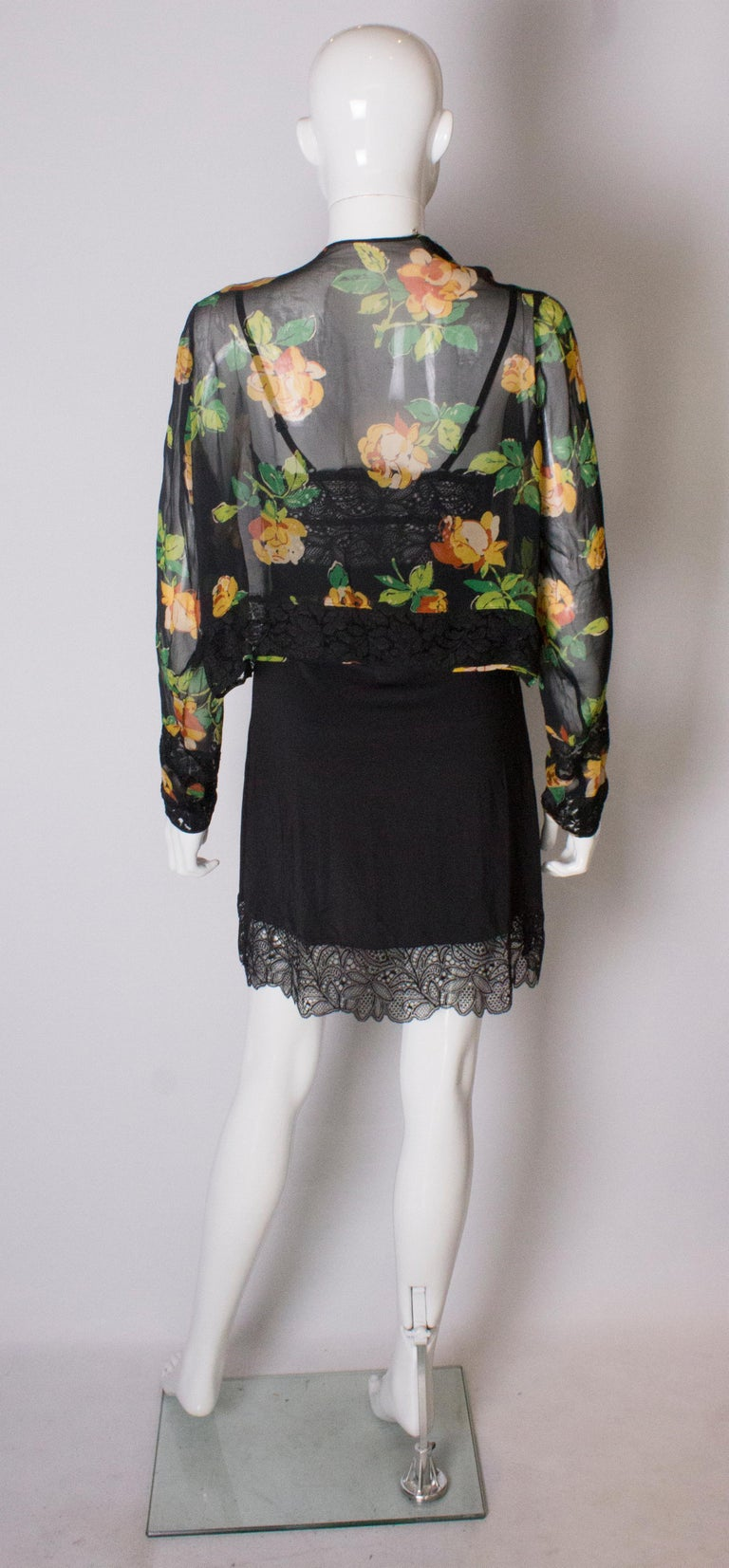 Bolero Vintage with Lace Detail, 1920s  For Sale 3