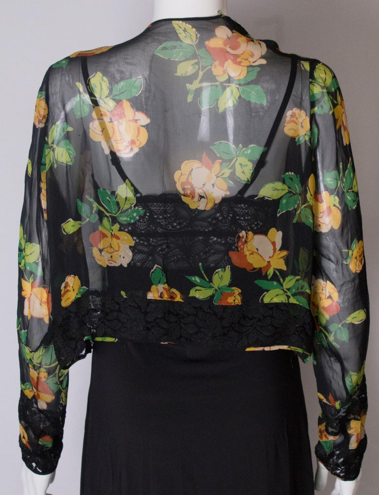 Bolero Vintage with Lace Detail, 1920s  For Sale 4