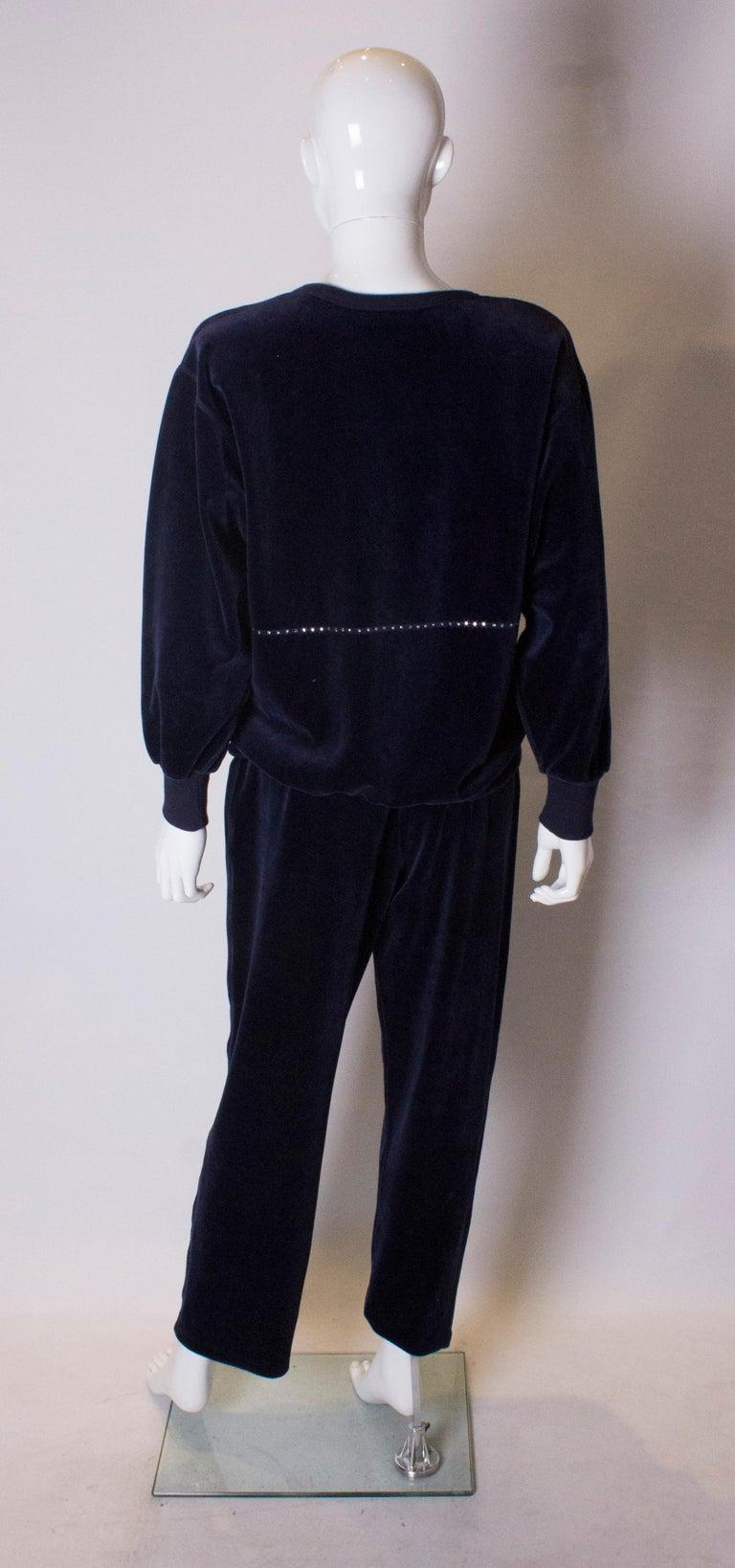 Women's Vintage Sonia Rykiel Leisure Suit For Sale