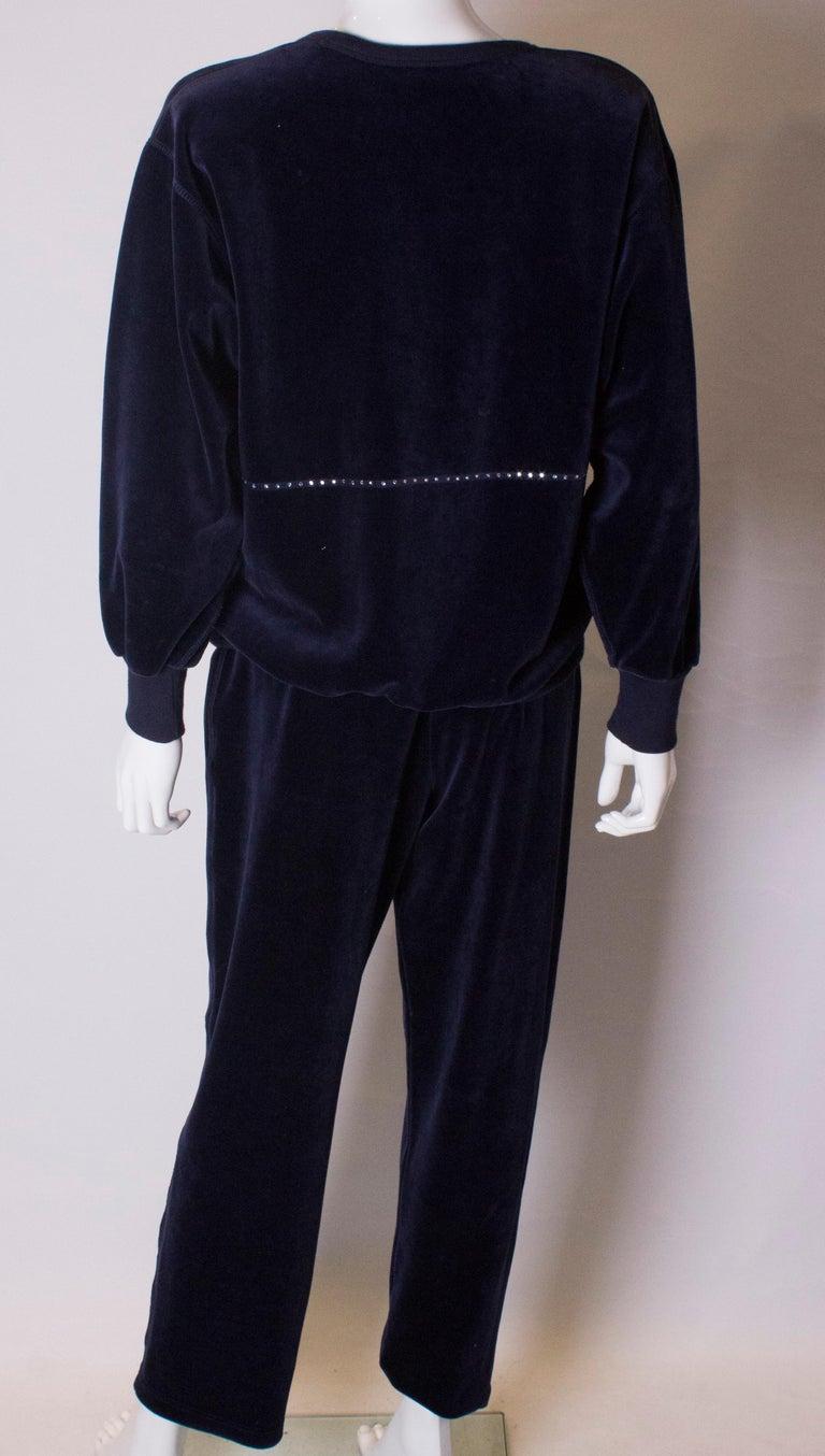 Vintage Sonia Rykiel Leisure Suit For Sale 1