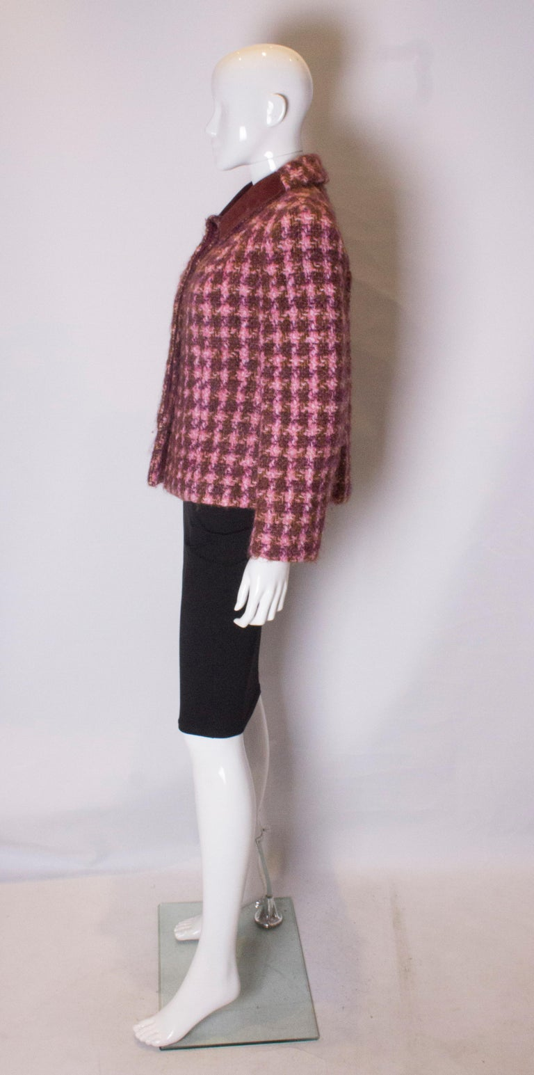 Women's Vintage Jean Patou  Wool Jacket For Sale