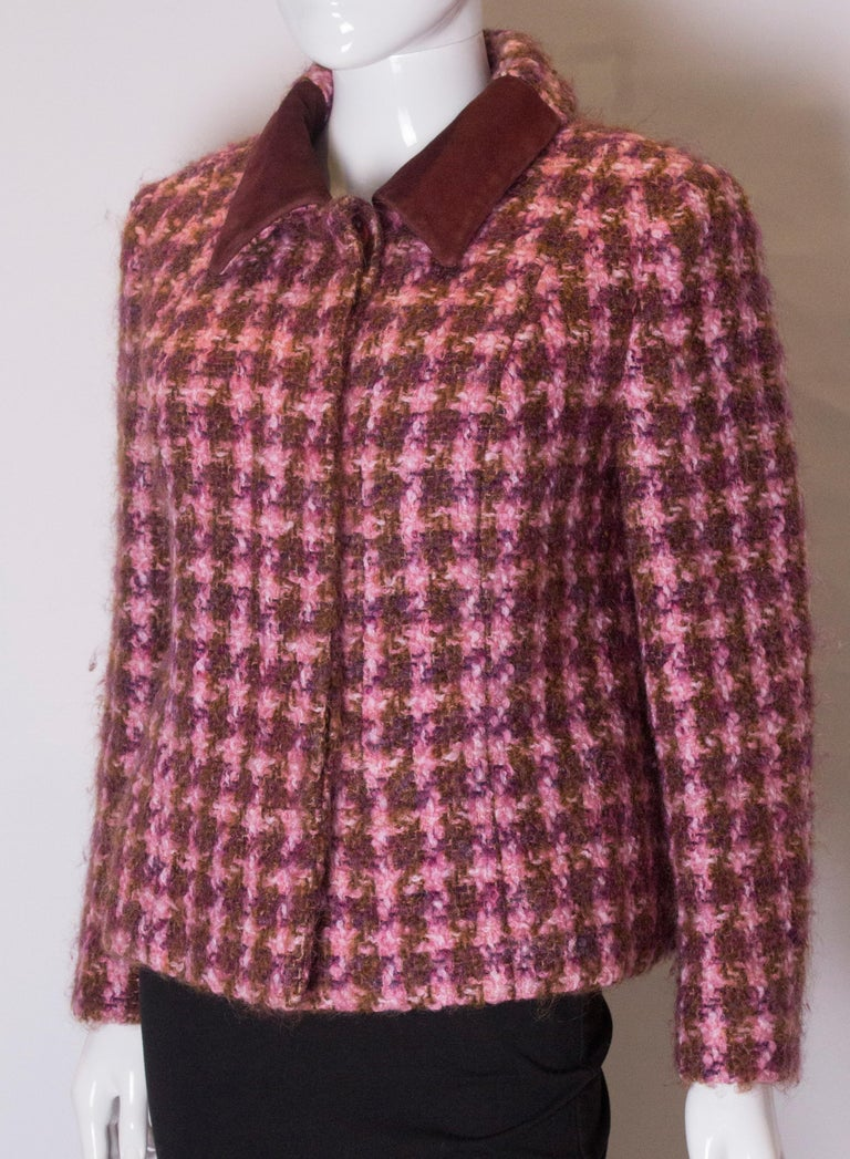 Vintage Jean Patou  Wool Jacket In Good Condition For Sale In London, GB