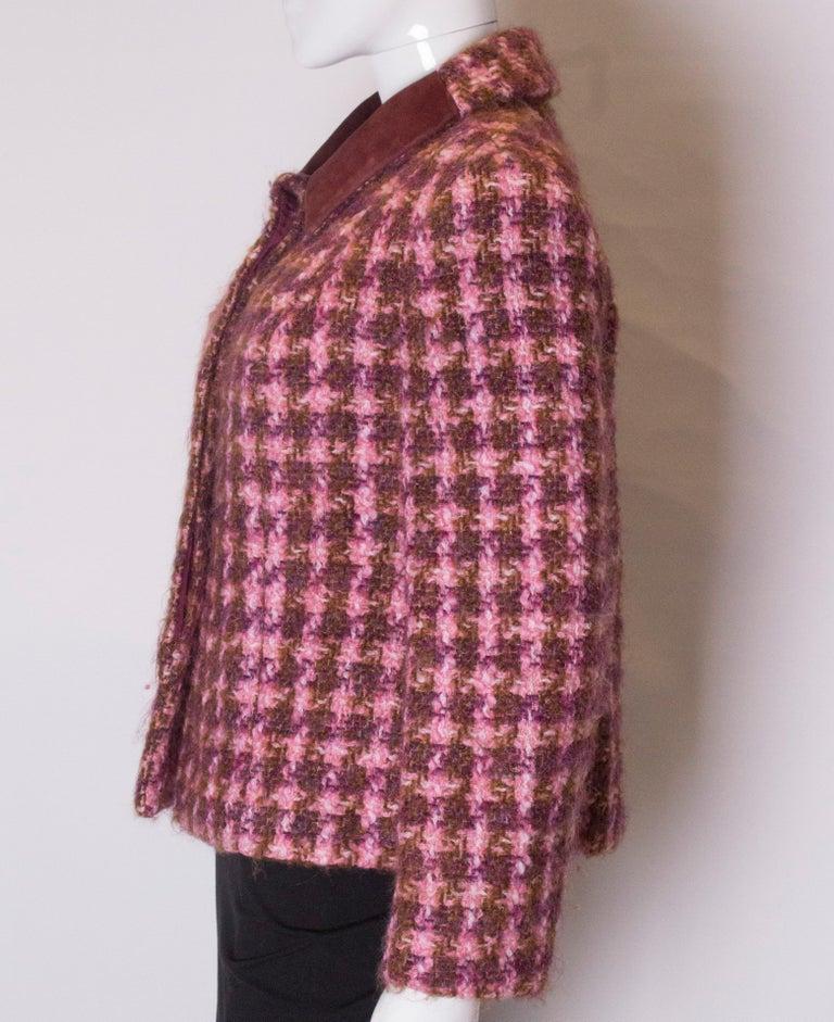 Vintage Jean Patou  Wool Jacket For Sale 1