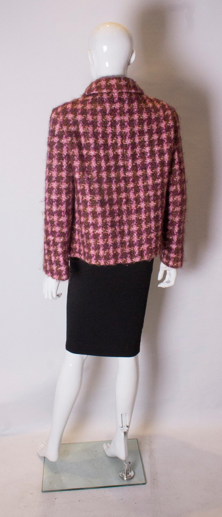 Vintage Jean Patou  Wool Jacket For Sale 2