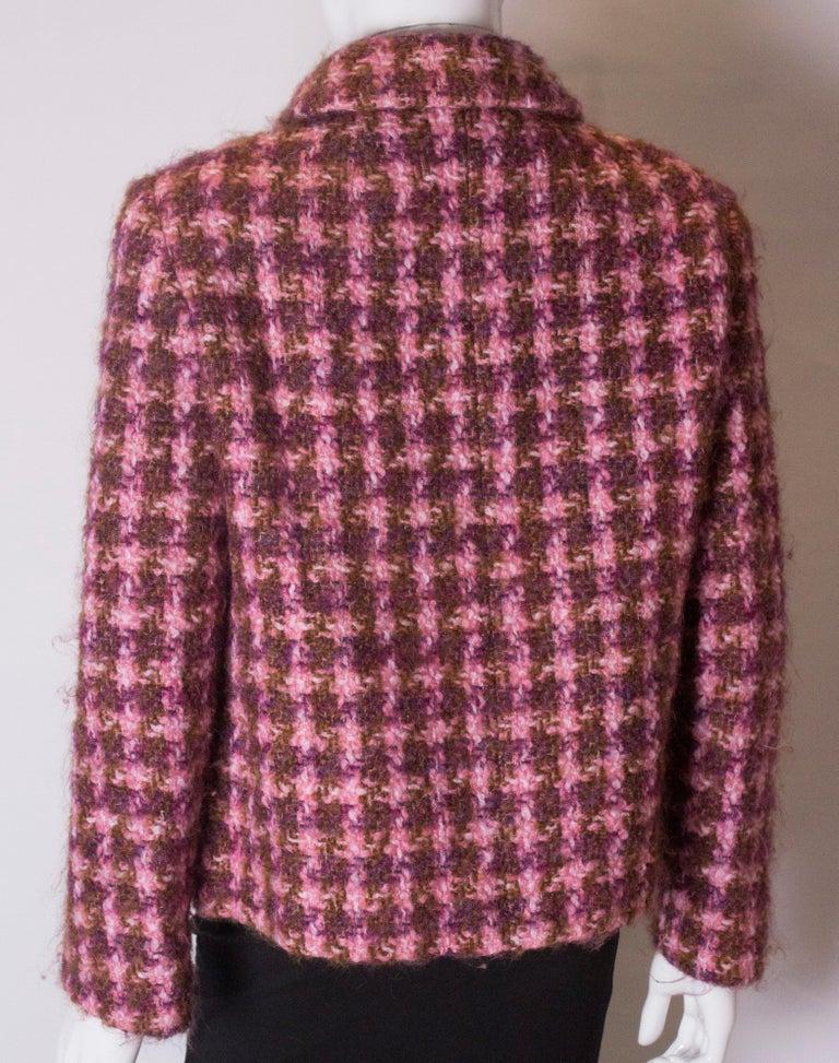 Vintage Jean Patou  Wool Jacket For Sale 3