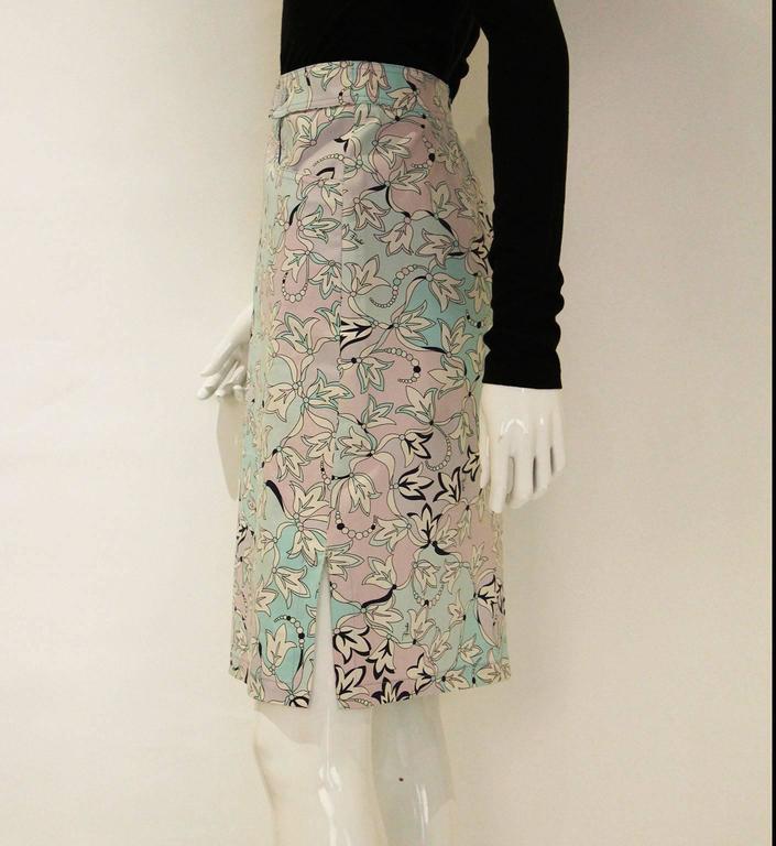 Pucci Cotton Skirt 3