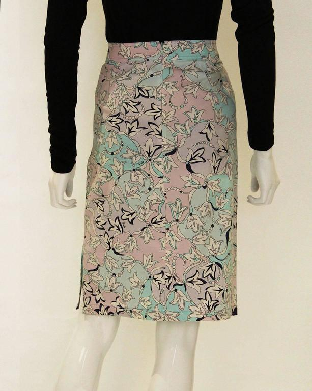Pucci Cotton Skirt 4