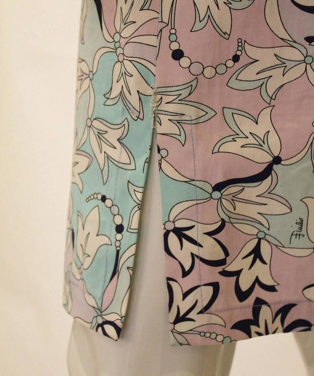 Pucci Cotton Skirt 5