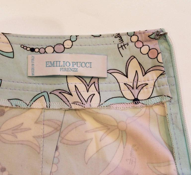 Pucci Cotton Skirt 9
