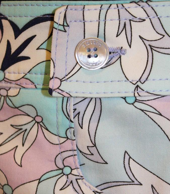 Pucci Cotton Skirt 7
