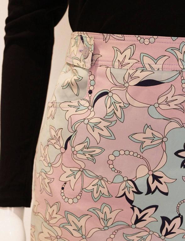 Pucci Cotton Skirt 6
