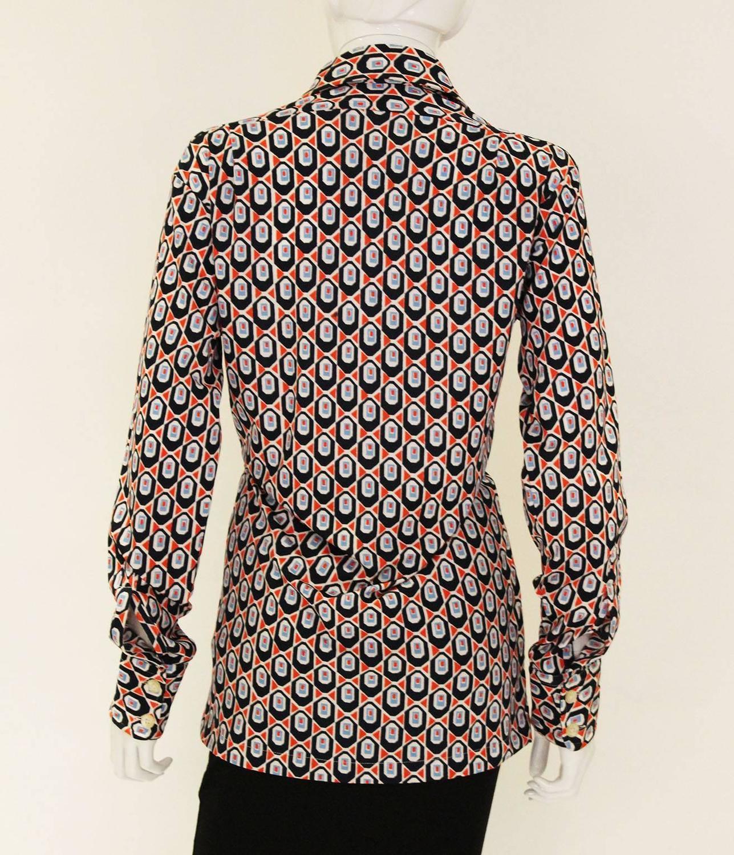 vintage givenchy gentleman paris shirt for sale at 1stdibs. Black Bedroom Furniture Sets. Home Design Ideas