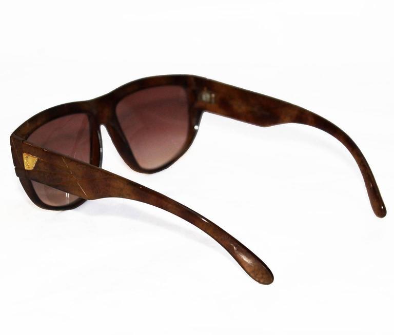 Yves Saint Laurent 1970s Vintage Sunglasses 3