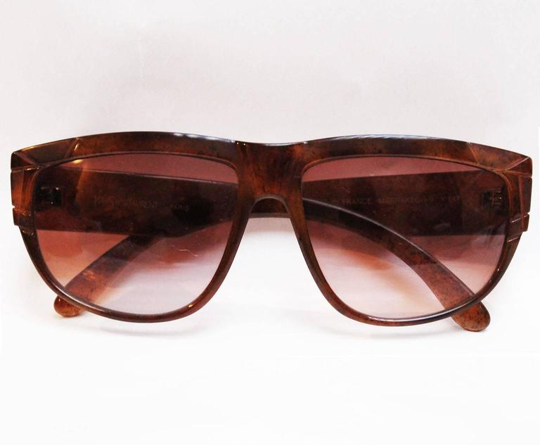 Yves Saint Laurent 1970s Vintage Sunglasses 5