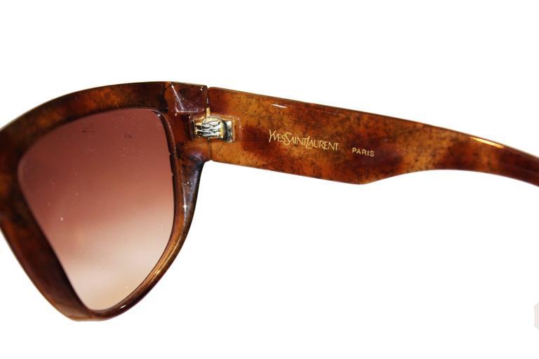 Yves Saint Laurent 1970s Vintage Sunglasses 7
