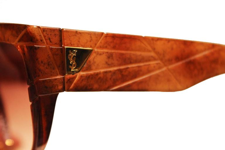 Yves Saint Laurent 1970s Vintage Sunglasses 6