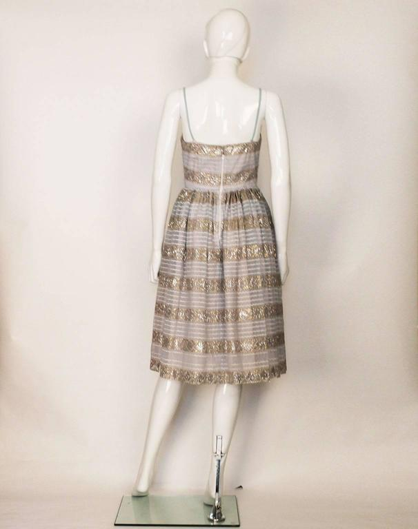 Victor Josselyn Vintage Evening Dress, 1950s  In Good Condition For Sale In London, GB