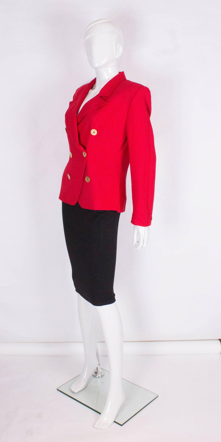 Christian Dior Red Jacket 3