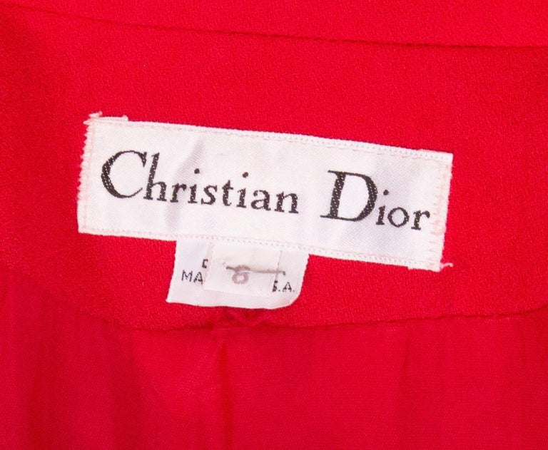Christian Dior Red Jacket 6