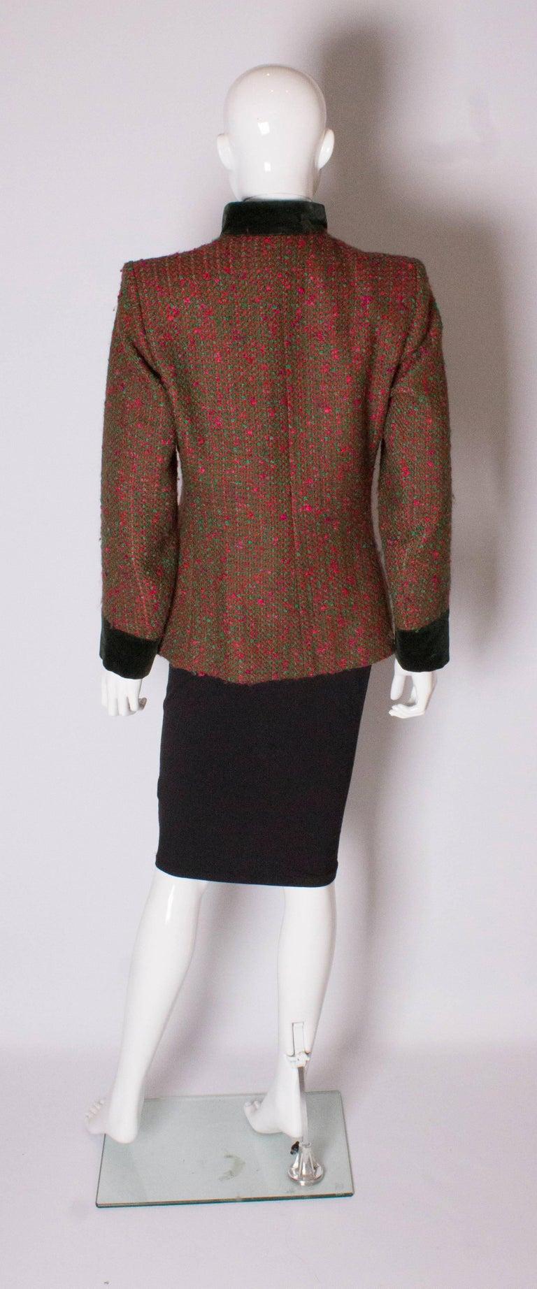 Women's Yves Saint Laurent  Rive Gauche Vintage Jacket For Sale