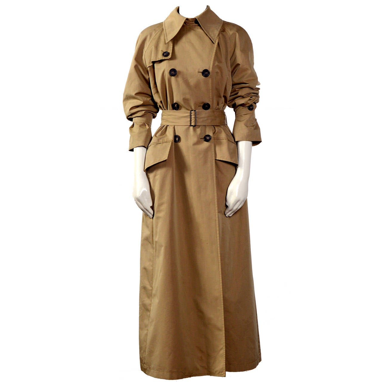 Vintage Dries Van Noten Mackintosh Raincoat at 1stdibs