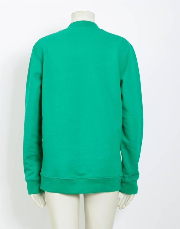 Raf Simons / Sterling Ruby 2014 Nails On Shoulder Print Sweatshirt 4