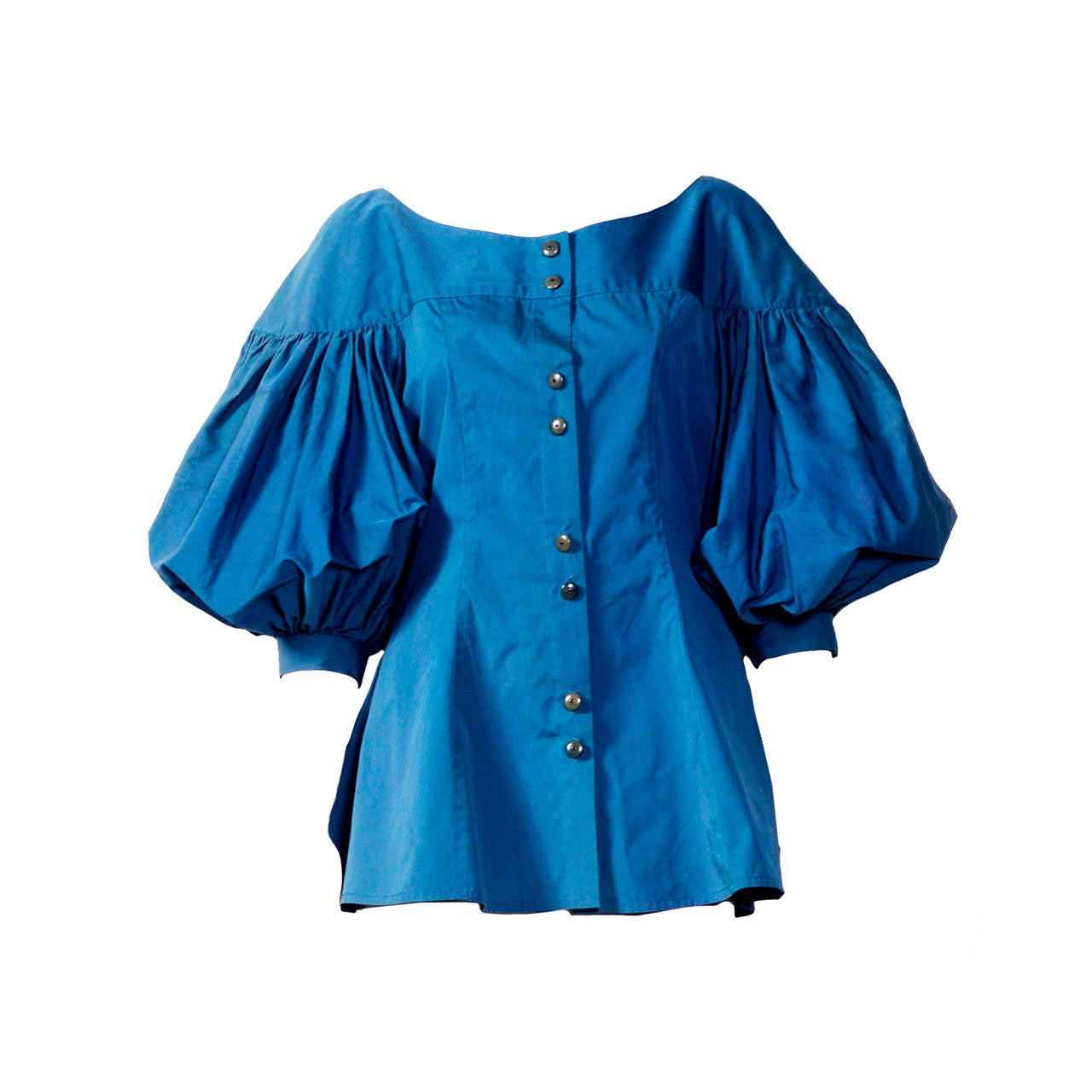 Cotton Tunic Blouse 73