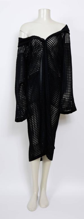 ISSEY MIYAKE 80's Vintage Woven Pleats Please Long Coat 2