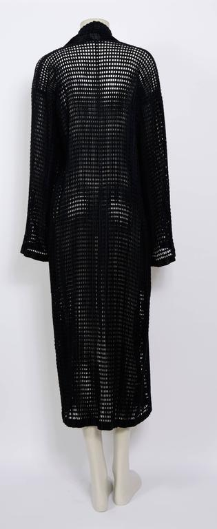 ISSEY MIYAKE 80's Vintage Woven Pleats Please Long Coat 5