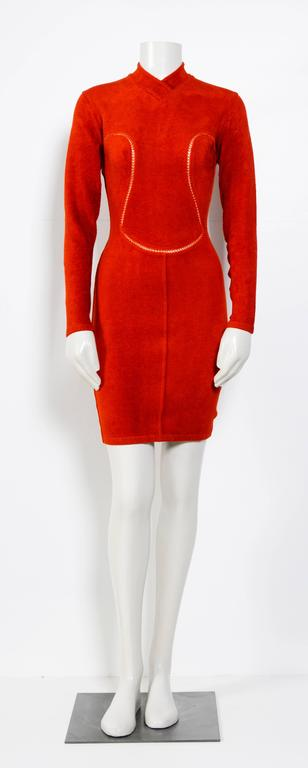 Vintage 90's Iconic ALAIA stretch dress 5