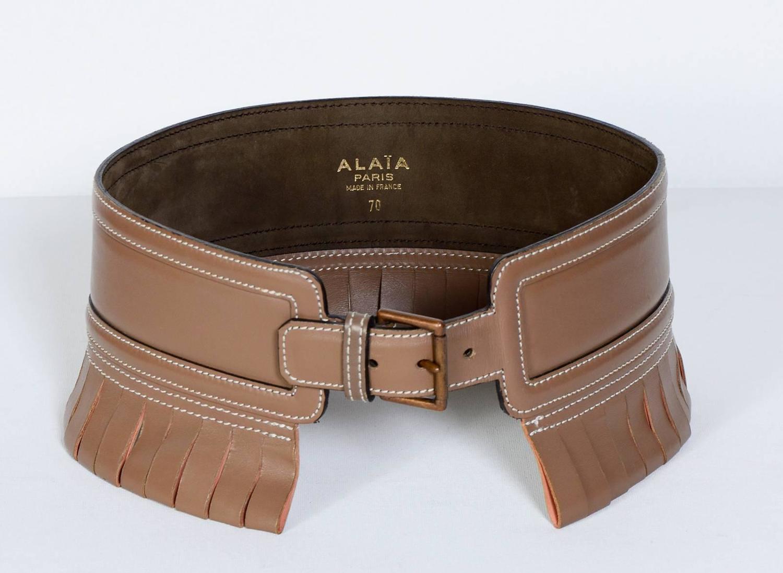 Vintage Alaia 80 S Belt For Sale At 1stdibs