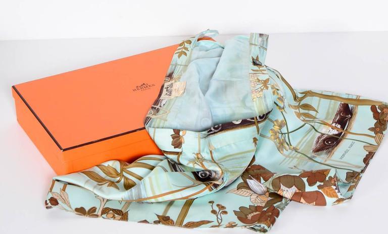 Hermes Vintage 80's Signed Race-Car Print Silk Shorts 5