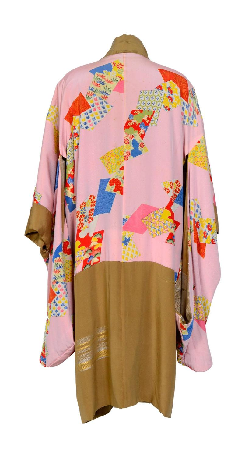 antique japanese silk embroidered elegant kimono for sale at 1stdibs