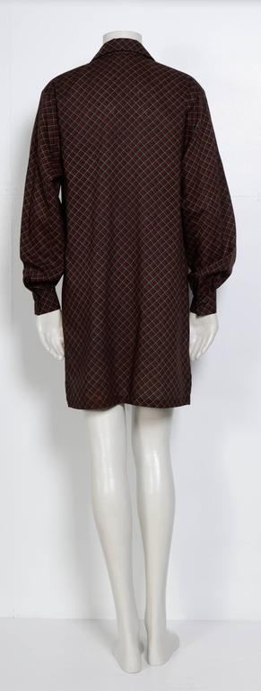 Yves Saint Laurent 1970s Wool Tunic/Blouse  In Excellent Condition For Sale In Antwerp, BE