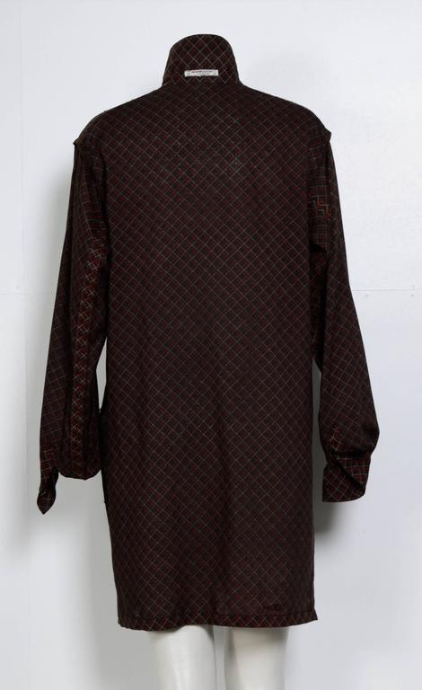 Women's Yves Saint Laurent 1970s Wool Tunic/Blouse  For Sale